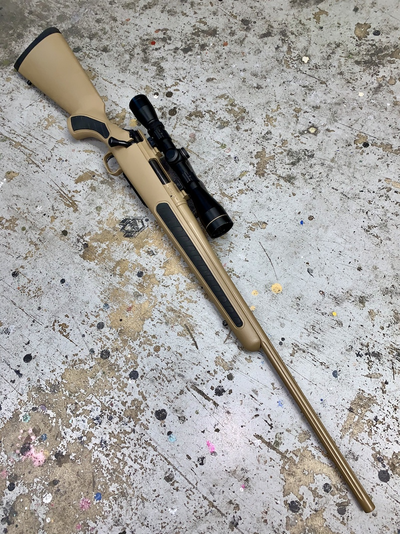 Coyote Tan Bolt Action 2