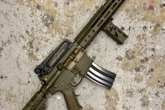 BushMaster 450 OD Green:Burnt Bronze